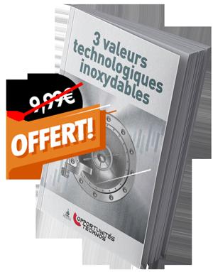 Couverture 3 valeurs technologiques inoxydables