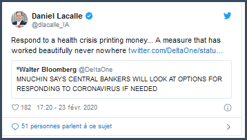 Tweet Daniel Lacalle